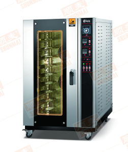 Cost Effective! ! ! Hot Air Circulation Convection Oven with Steam Spray