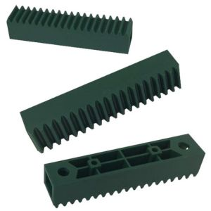 Toothing Saw Strip / Heavy Duty Rigid Nylon Plastic Straight Teeth Gear Rack pictures & photos