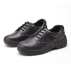 Work Industrial Footwear Leather/PU Safety Shoes pictures & photos