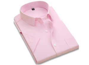 Bespoke Men Cotton Pure White Business Shirt pictures & photos