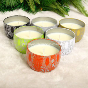Nature Soy Wax Scented Tin Candles