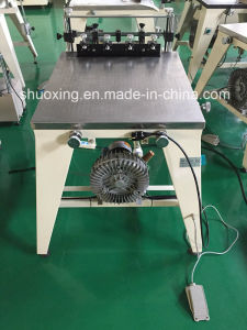 Manual Serigraphy Printing Table with Suction Pump pictures & photos