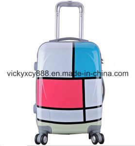 ABS Fashion Wheeled Trolley Boarding Bag Suitcase Case (CY5934) pictures & photos