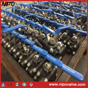 A105 Forged Steel NPT/Bw/Sw Threaded Ball Valve pictures & photos