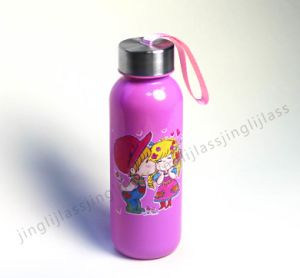 Colorful Water Glass Bottles pictures & photos