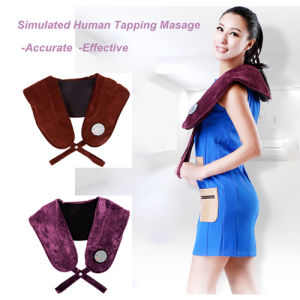 Massage Shawl Tapping Massage Shoulder Neck Massager pictures & photos