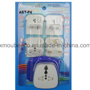 Universal Travel Adaptors AST-P4 (Socket, Plug) pictures & photos