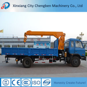 Truck Mounted Crane for Sale with Good Chassis pictures & photos