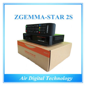 Original Satellite Receiver Zgemma-Star 2s Twin Tuner Smart TV Box pictures & photos