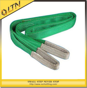 Duplex Double Eye Polyester Webbing Sling Belt (NHWS-A) pictures & photos