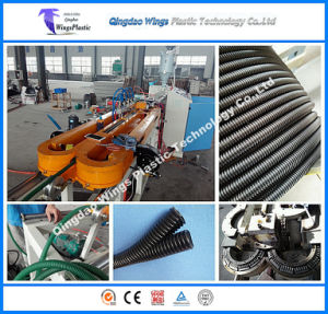 Corrugator, Single Wall Corrugated Pipe Machine, Corrugated Pipe Production Line pictures & photos