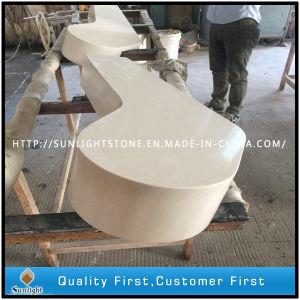 Engineered Artificial White Colors Quartz Stone Countertops pictures & photos