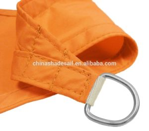 Orange Color of Waterproof Polyester Fabric Sun Shade Sail (Manufacturer)