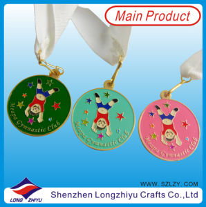 Kids Medal Hard Enamel Metal Medal for Kids Gymnastics Games pictures & photos