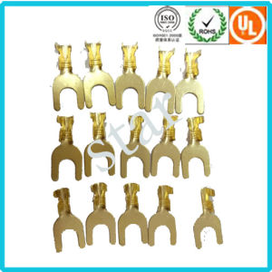 Manufacture Automotive Wire Harness Connector Fork Terminal pictures & photos