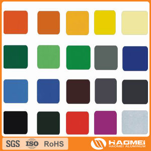 aluminum color coated sheets pictures & photos