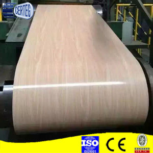 PPGI Prepainted Wooden Color Coated Steel Coil pictures & photos