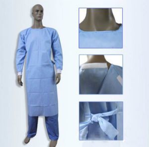 Non Woven Surgical Gown Customize Design (HYKY-04312) pictures & photos