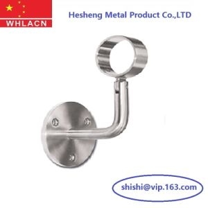 Stainless Steel Cast Staircase Railing Post Holder (Handrail Fitting) pictures & photos