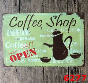 2016 Vintage Metal Tin Signs Wholesale Tin Sign by Sign Manufacturer
