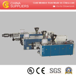 Plastic Extruder Single Screw Plastic Sheet/Board Extruder pictures & photos