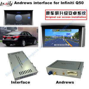HD Multimedia Android Video Interface GPS Navigation for 2015-2016 Infiniti Q50 pictures & photos