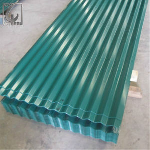 0.47mm Thickness Color Coated PPGI Corrugated Steel Sheet with High Glossy pictures & photos