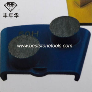 CD-34 Two Round Diamond Segment for Coating Removal First Polishing pictures & photos