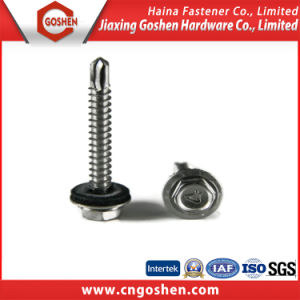 Flange Hex Head Self Drilling Screw with EPDM Washer pictures & photos