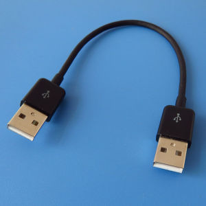 High Quatity Nikel-Plated USB Male to Male M/M Cable Computer pictures & photos