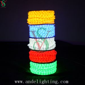 PVC Round 2 Wires LED Rope Light for Decoration pictures & photos