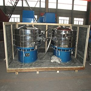 Rotatory Circular Motion Flat Eddy-Vibrating/Vibrating/Vibrator/Shaker Screen pictures & photos