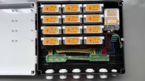 DIN Rail Keypad Split Energy Meter Box with Ciu pictures & photos