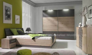 Hot Sell Modern Bedroom Furniture Set with Wardrobe (HF-EY0298) pictures & photos