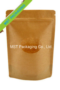 Kraft Paper Bag with Clear Window pictures & photos