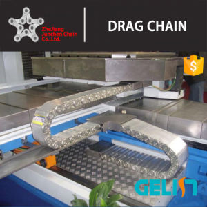 Zhejiang Junchen Tl Steel Drag Chain Cable Carrier Flexible Cable Tray pictures & photos