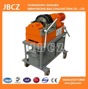 Tapered Thread Machine with Orange Coupler for Rebars From 16mm to 40mm pictures & photos