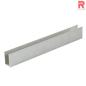 Aluminum/Aluminium Extrusion Profiles for Track Level Bar pictures & photos