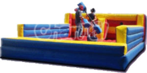 Inflatable Bungee Run & Joust Combo/Inflatable Sport Games for Adults pictures & photos