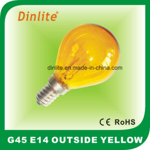 E14 Outside Colorful Incandescent Globe Bulb pictures & photos