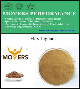 Hot Sell Natural Extract High Purity Flax Lignans pictures & photos