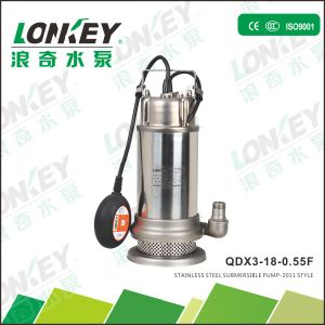 Stainless Steel Sea Water Submersible Pump, 0.5HP Stainless Steel Impeller Pump pictures & photos