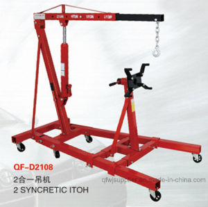 Foldable Shop Crane with Engine Stand Engine Support pictures & photos