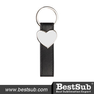 Strip PU Key Chain (Heart) (YA110) pictures & photos
