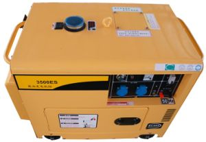 Silent Type Portable Air-Cooled Diesel Generator Set pictures & photos