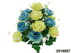 Artificial/Plastic/Silk Flower Rose Bush (2918007) pictures & photos