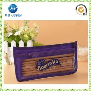 Custom Printed PVC Pen Pouch / PVC Pencil Bags (JP--plastic044) pictures & photos