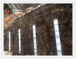 Spanish Dark Emperador Marble Slab for Flooring Tile/Wall Cladding and Brown Building Material pictures & photos