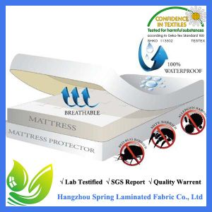 Waterproof Mattress Protector Cover Twin Size Bed Hypoallergenic Pad Bug Dust pictures & photos