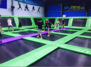 Olympic Standard Building Indoor Trampoline with Foam Pit, Dodge Ball, Basket Ball pictures & photos